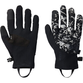 Mountain Hardwear WindLab Gore-Tex Infinium Gants Stretch, black reflective